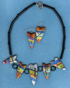 Ellen Marshall - Elements Heart Necklace